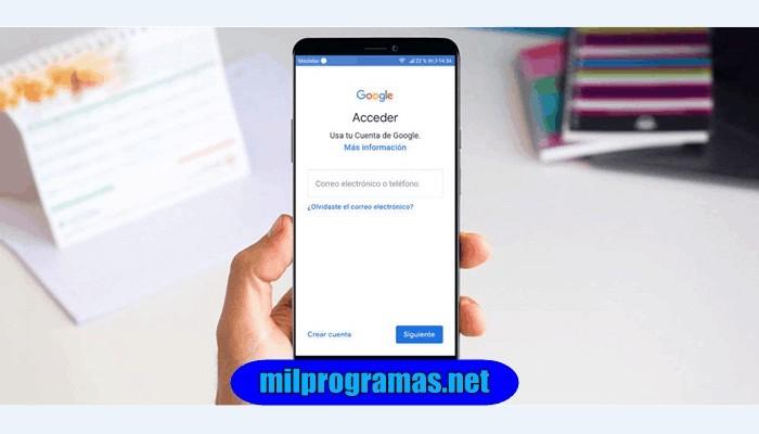 Programas Para Quitar Cuenta Google