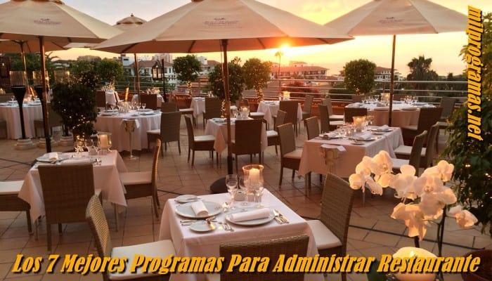 Programas Para Administrar Restaurantes