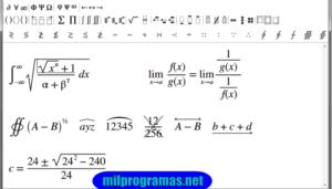 Programas para resolver ecuaciones