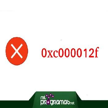Error 0xc000012f en Windows 10