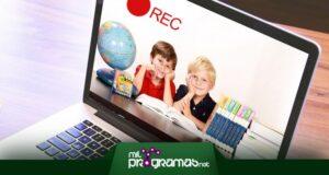programas para grabar clases virtuales