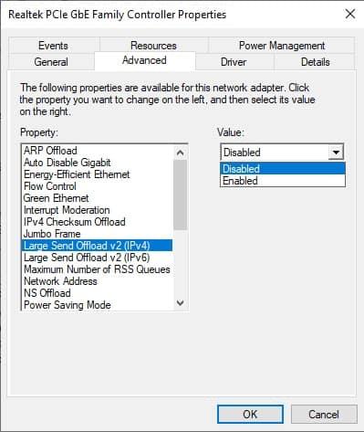 solventar internet lento en windows 10
