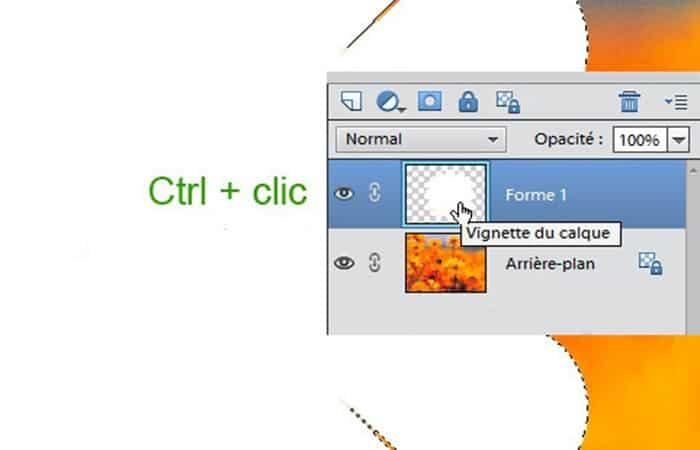Ctrl +clic