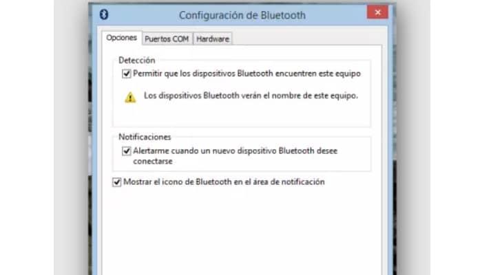 Conecta 2 PCs con Windows a través de Bluetooth