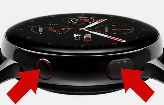 Reinicio de Galaxy Watch 3