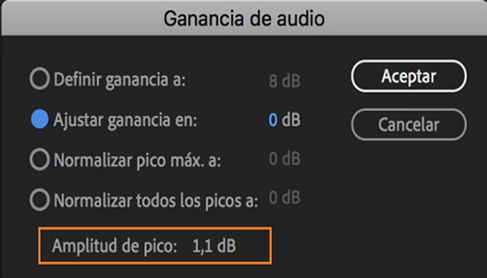 Cómo bajar el audio en Premiere