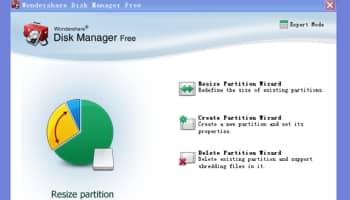 Wondershare Disk Manager