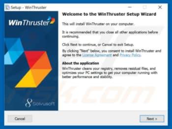 Cómo Arreglar o Desintalar Winthruster