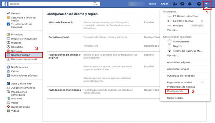No mostrar tu apellido en Facebook
