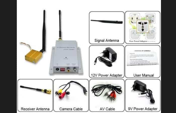 Mandar señal de TV sin cables por medio del transmisor de video
