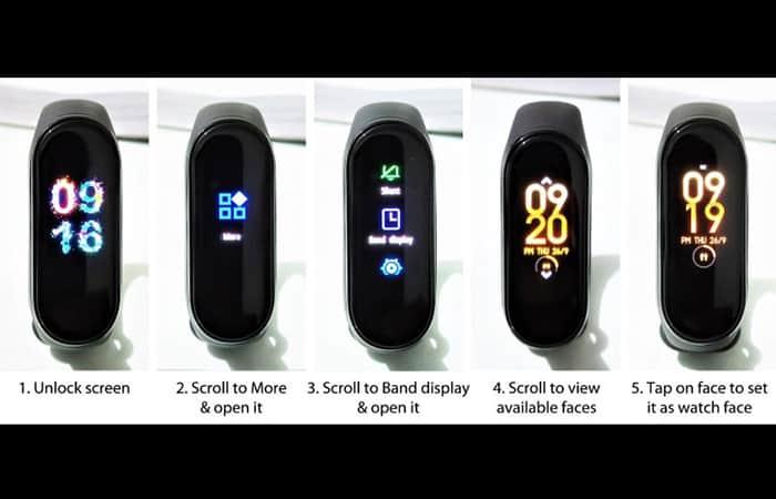 Personalizar WatchFace Mi Band 4