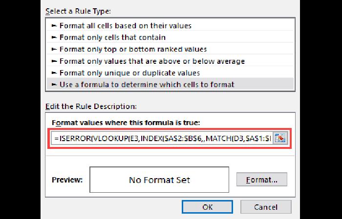 Usar una fórmula para determinar qué celdas formatear