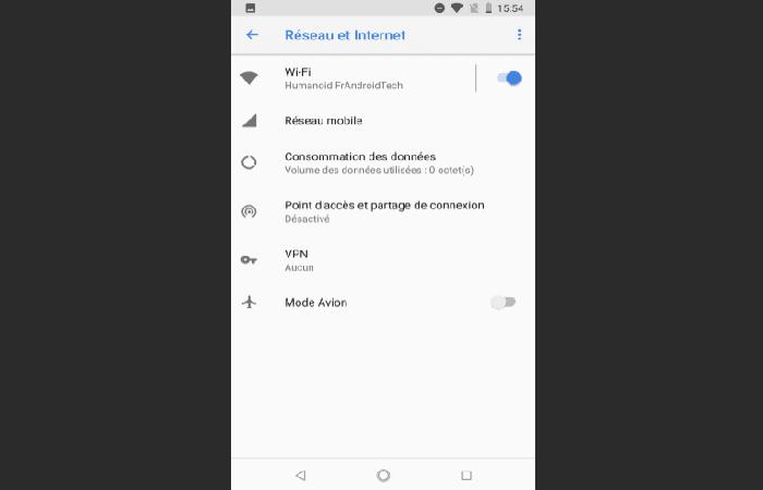 Causa y solución 1 cuando Play Store no funciona (Verifica el estado de tu conexión a internet)