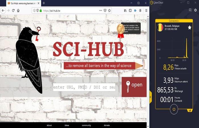 Sci-hub DNS