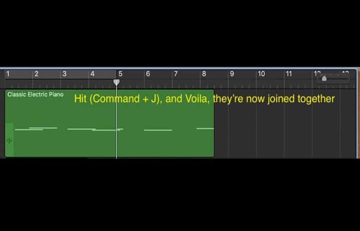 función (Comando + J)