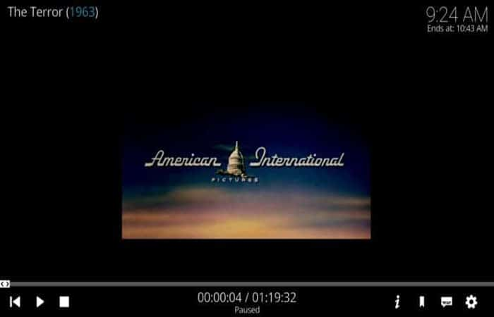 Un ejemplo de configuración de video incorrecta en Kodi