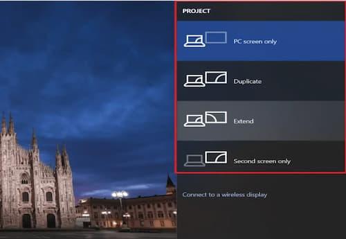 Cambiar el Monitor Primario y Secundario en Windows