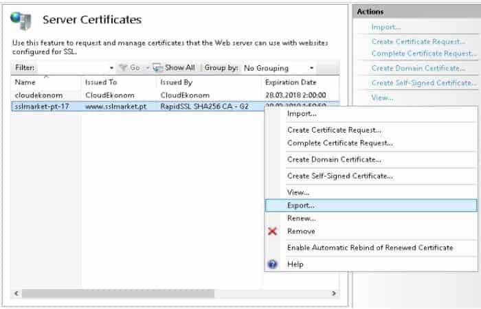 Generar Un Certificado En Formato PFX