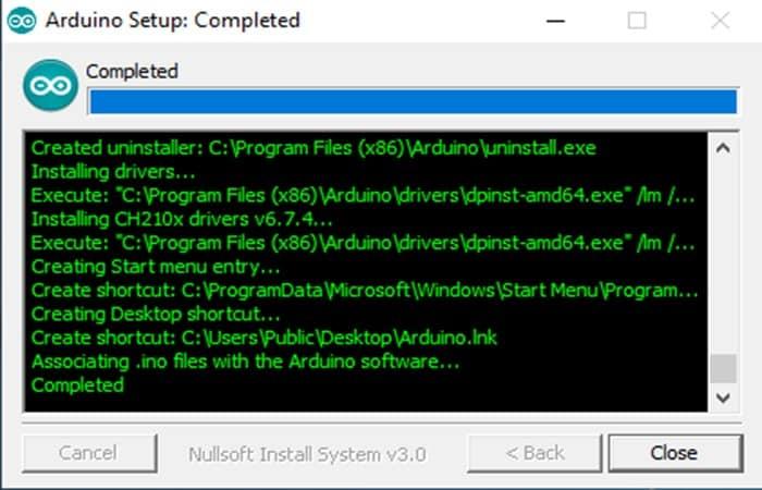 Arduino IDE en Windows