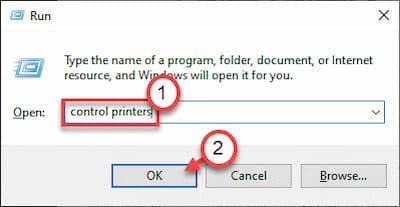 La impresora requiere atención