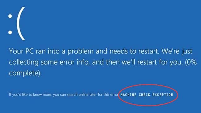 Machine Check Exception