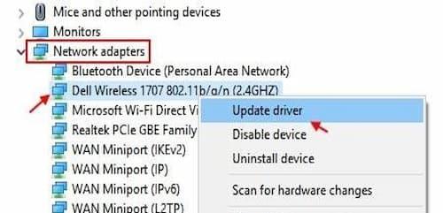 WiFi limitado en Windows 10