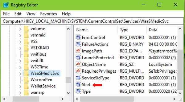 Windows Update Medic Service