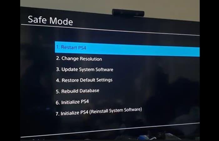 reinstalar el software del sistema