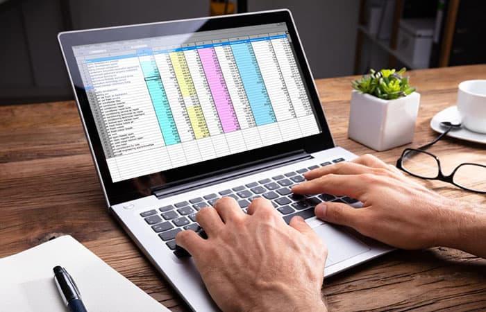Lista de archivos en Excel