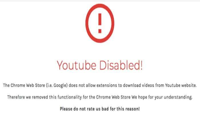 Descargar videos de YouTube con las extensiones