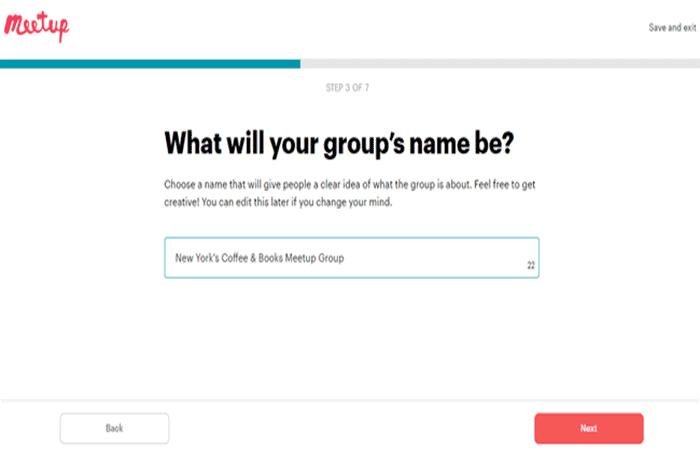 Nombre del grupo
