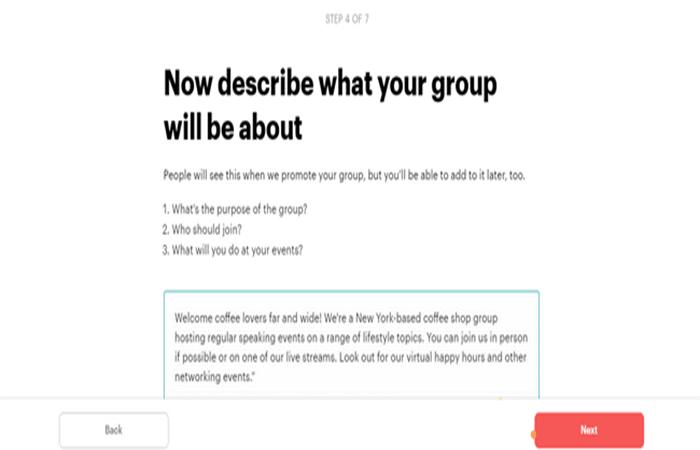 Descripción del grupo