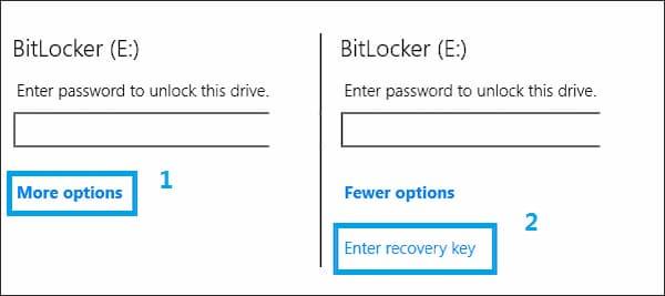 Desbloquear Bitlocker sin contraseña