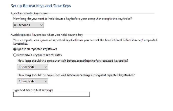 Habilitar claves de filtro