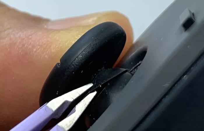 reemplazo del joystick